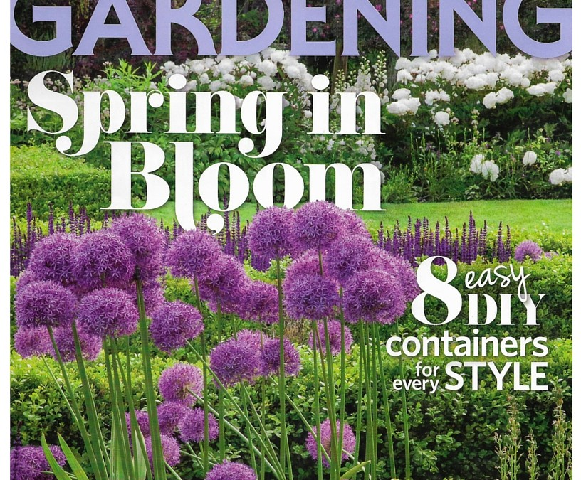 Spring has Sprung: Garden Halo is Featured in Canadian Gardening