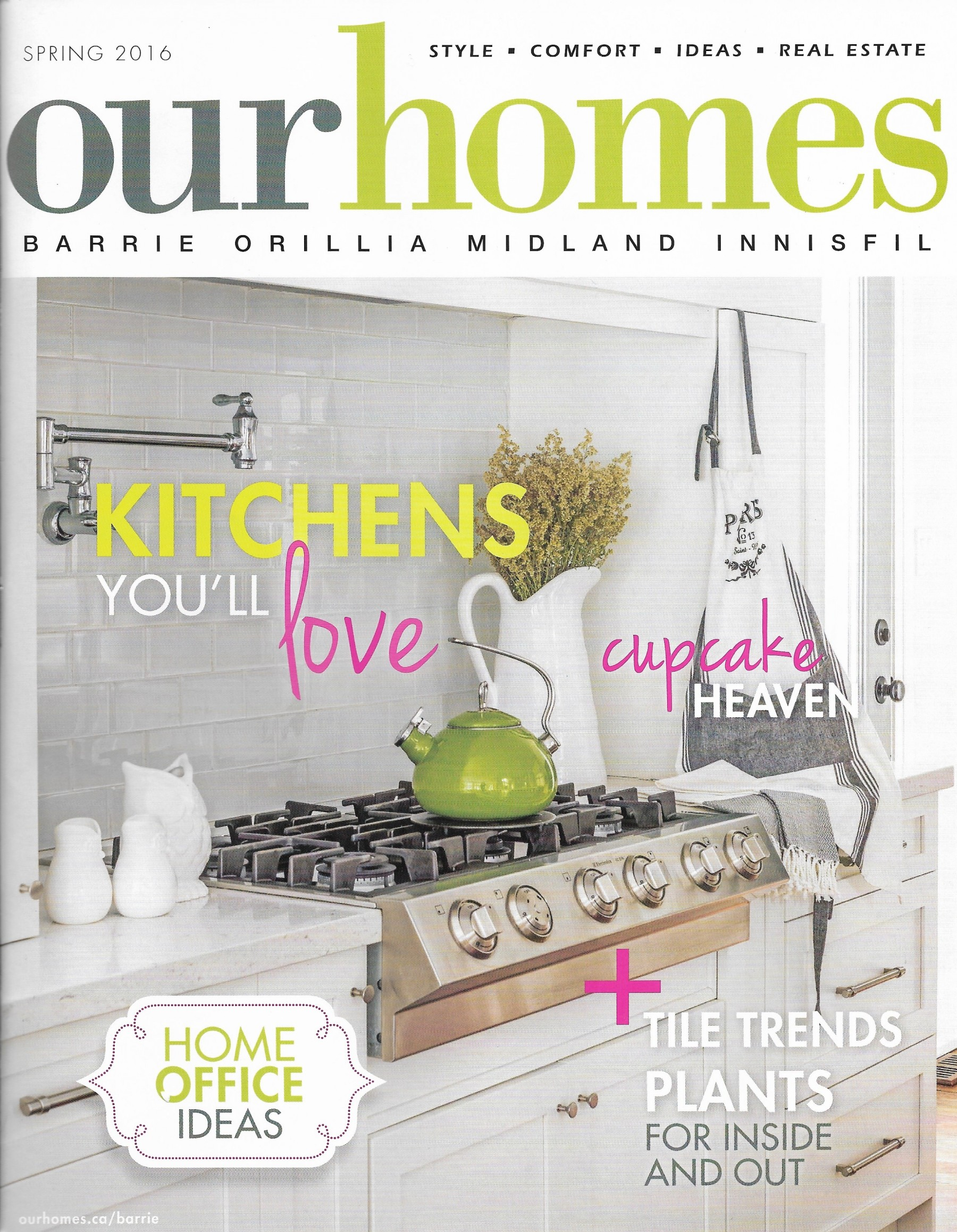 Our Homes Magazine Shares the Story of The Garden Halo