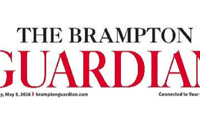 Gilchrist brothers are featured in the Brampton Guardian
